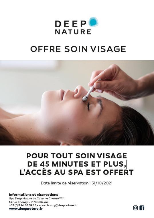offre soin visage