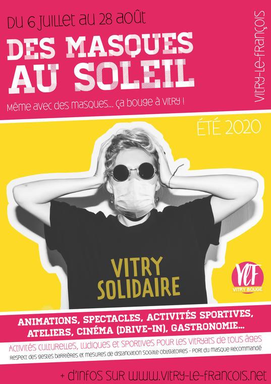 Affiche été Vitry-le-François