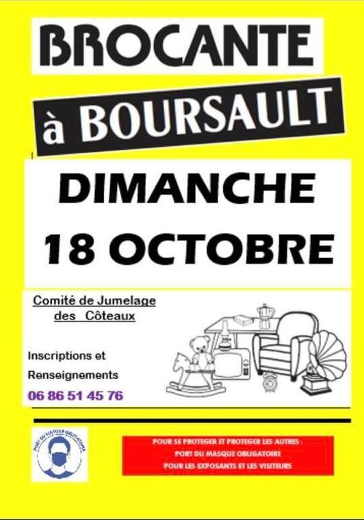 brocante Boursault