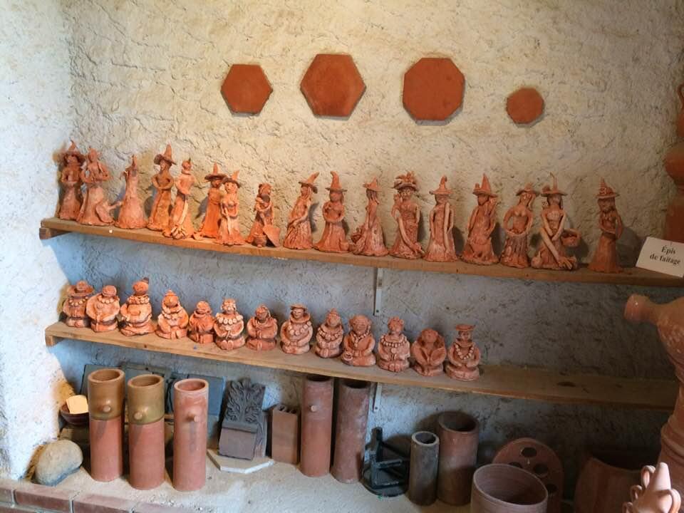 stage enfants poterie Royer