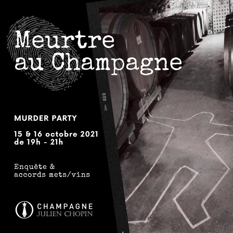 Murder party : Meurtre au Champagne