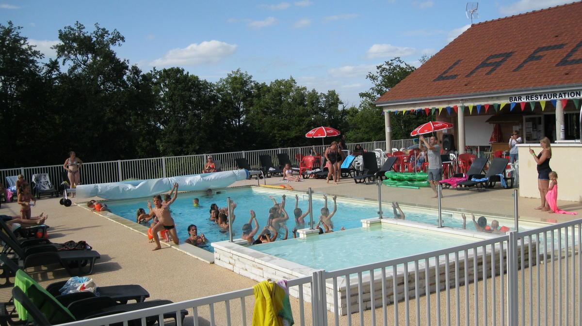 Camping La Forêt - piscine - Lac du Der