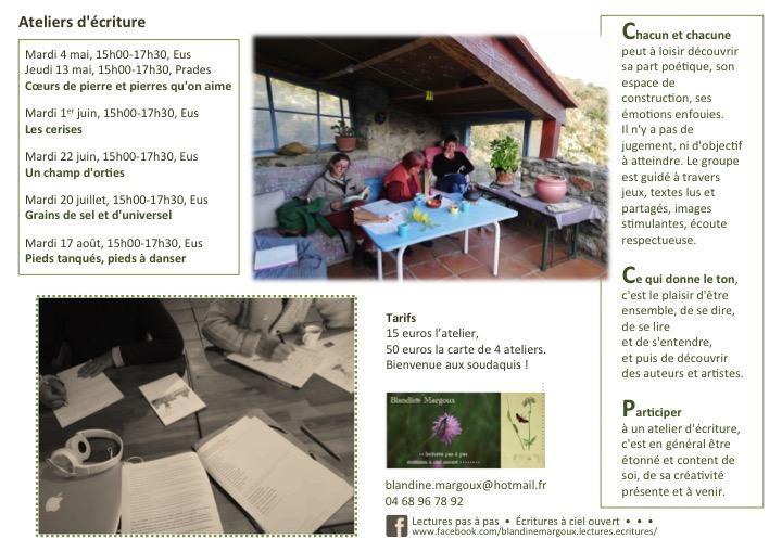 Ateliers sédentaires en Conflent