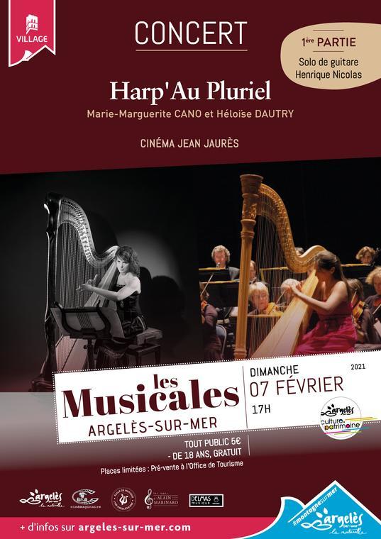 Affiche - Musicales- février 2021