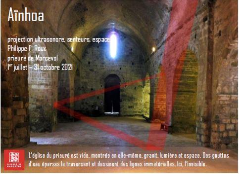 Aïnhoa Projection ultrasonore, senteurs, espace