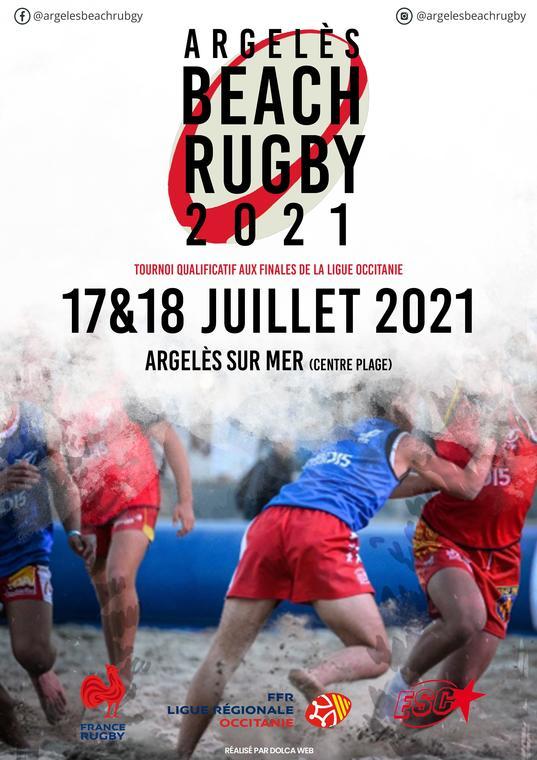 Argeles Beach Rugby 2021