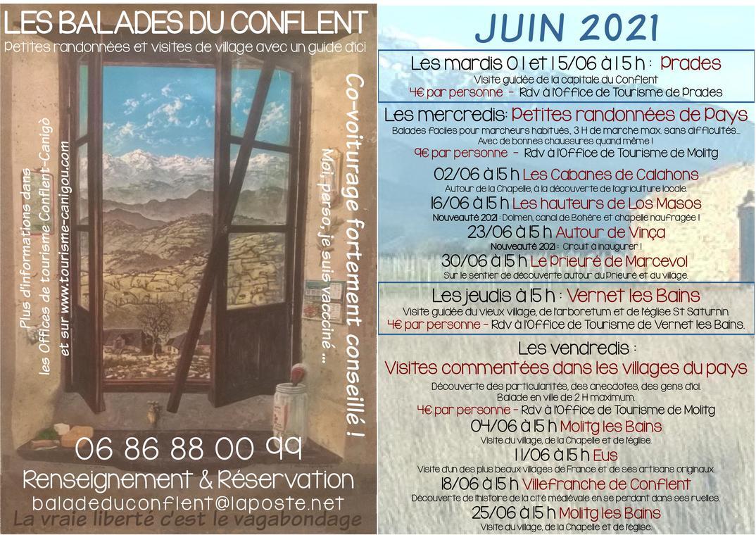 Balades conflent Juin21