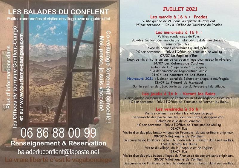 Balades en Conflent Juillet 2021