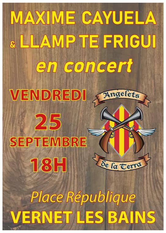 Concert 25 septembre