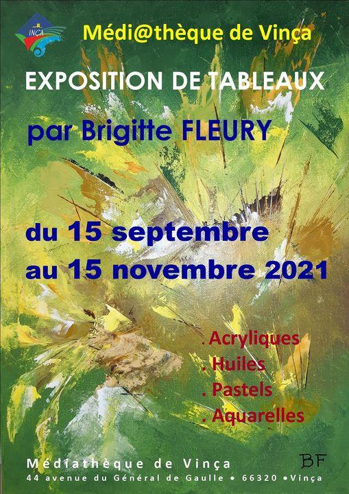 Exposition Brigitte Fleury