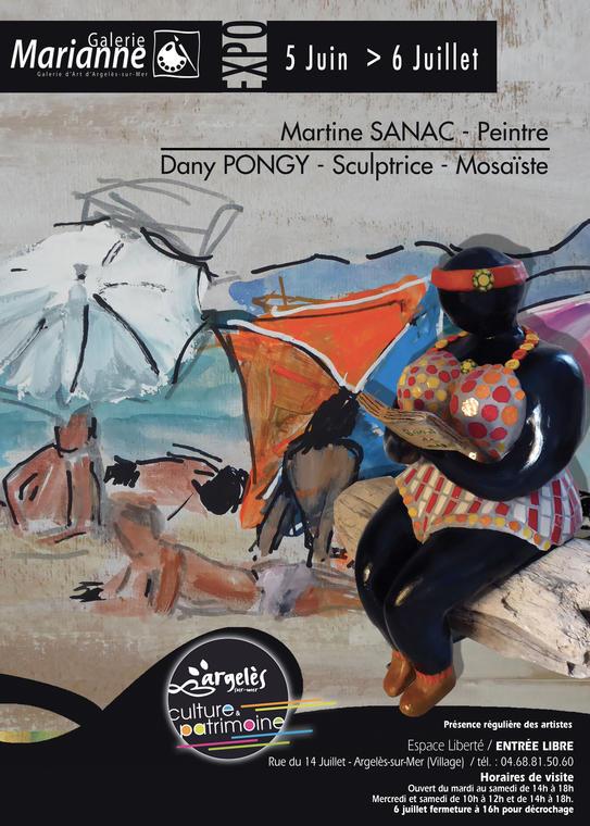 Exposition-Martine-SANAC-Dany PONGY