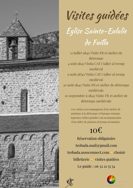 Visite de l'église de Fuilla