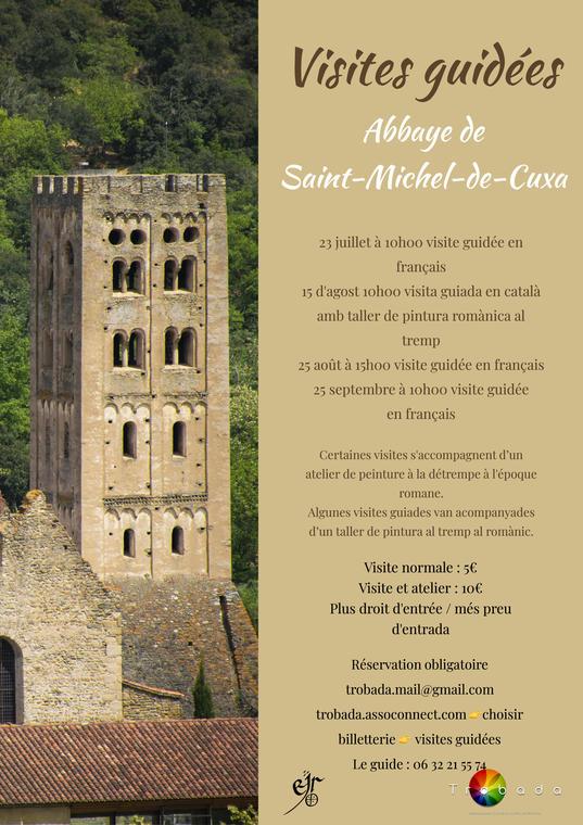 Visite de l'abbaye de Saint-Michel de Cuxa
