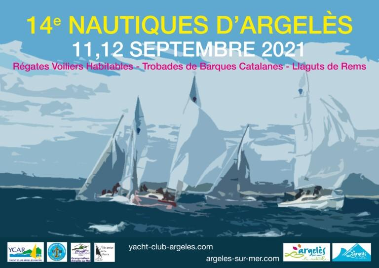 affiche Nautiques 11-12-09-2021