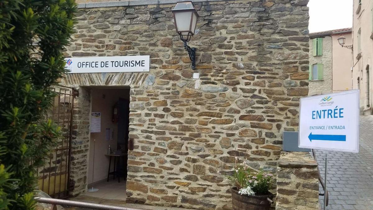 antenne de Molitg les Bains office de tourisme conflent canigo