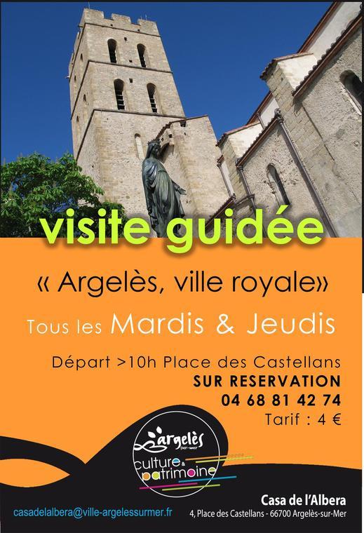 Argelès, ville royale