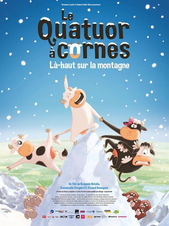 2020-12-09 - Cine des enfants - Le quatuor a cornes