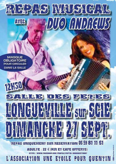Duo Andrews Des étoiles pour Quentin 27.09.20