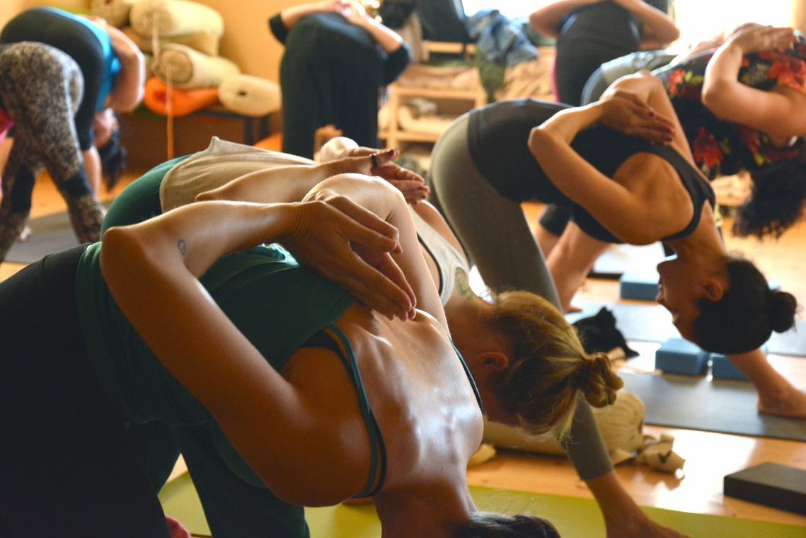 Yoga groupe