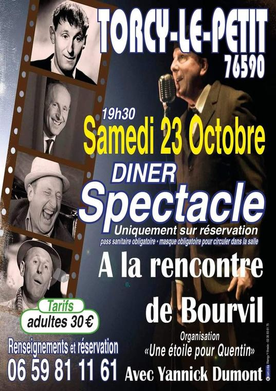 diner spectacle bourvil 2021