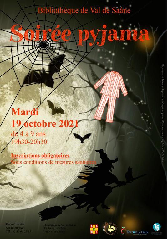 Soirée pyjama d'Halloween