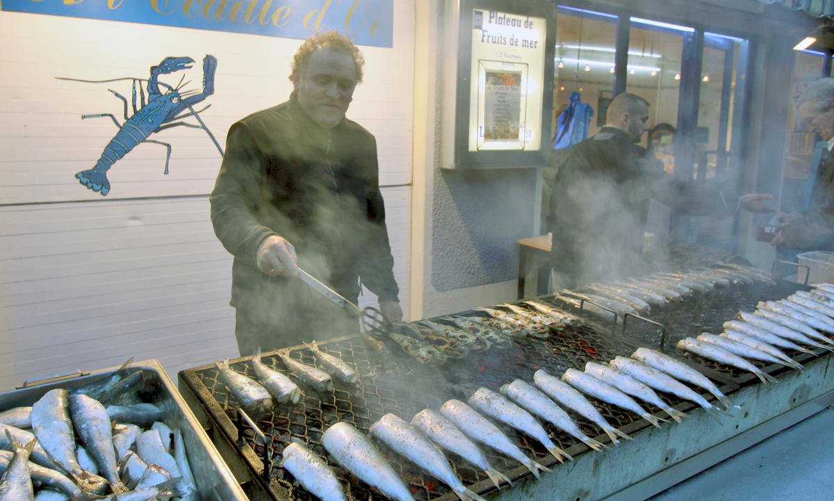Hareng grillé Poissonnerie Dieppe