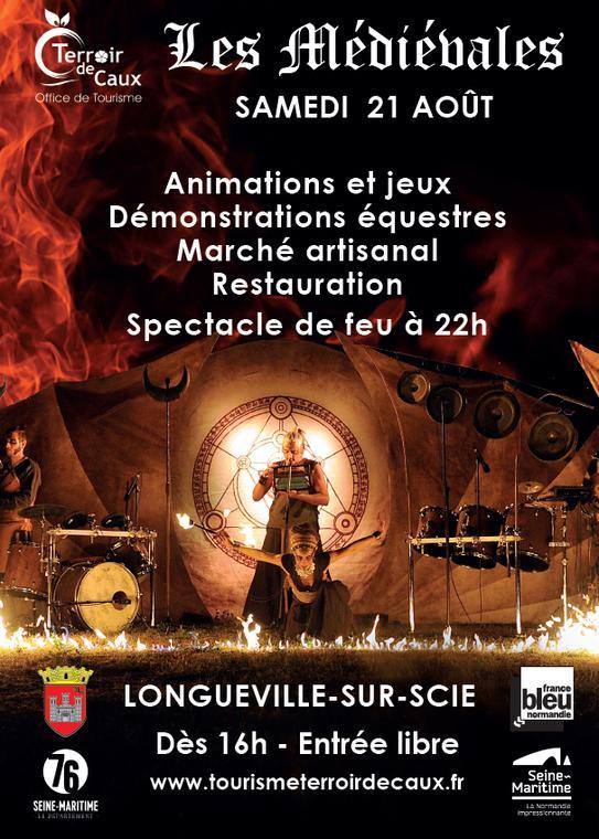 Médiévales Longueville sur Scie 2021