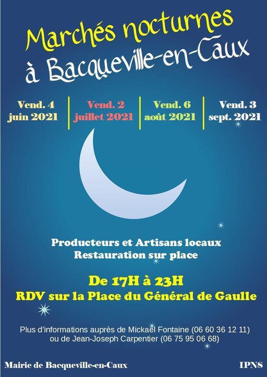 2021-Marché nocturne Bacqueville