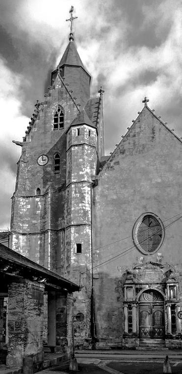Mamers clocher st nicolas -5 NIVEAUX DE GRIS REDIM.