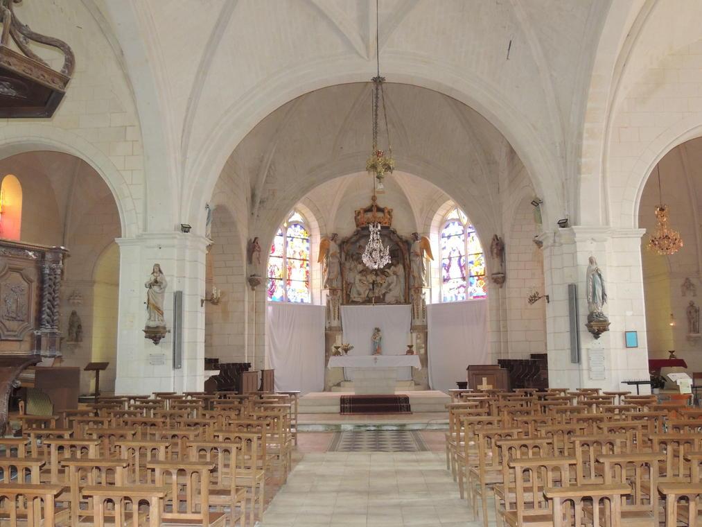 AUBIGNE Eglise st Martin du Vertou ©Ludivine Garrigue (16)