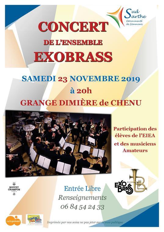 Affiche concert Exobrass