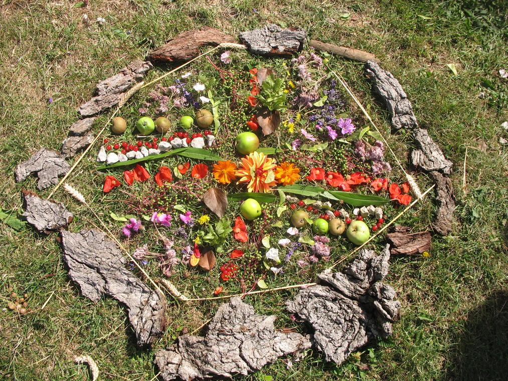 Art nature mandala 1