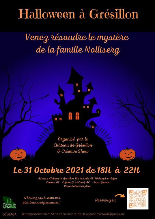Halloween au CHÂTEAU DE GRÉSILLON