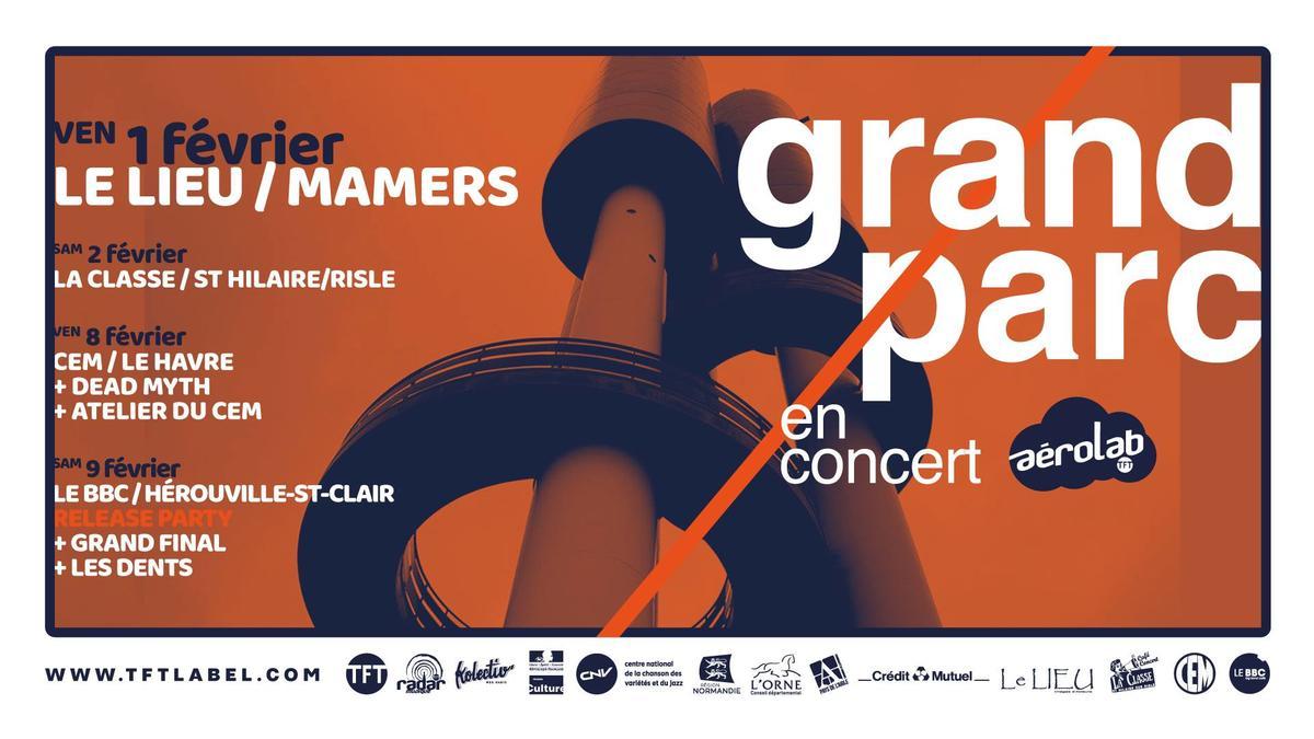 Concert Grand Parc Le Lieu
