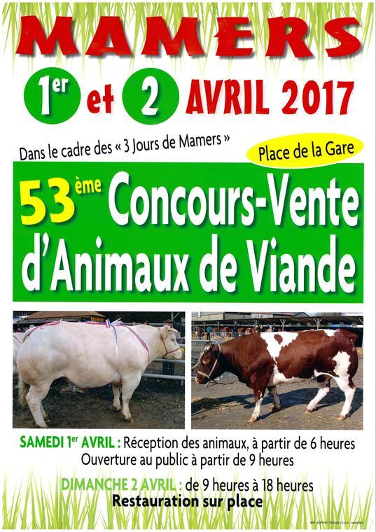 Concours animaux viande