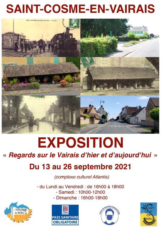 Exposition Saint Cosme en Vairais sept 2021