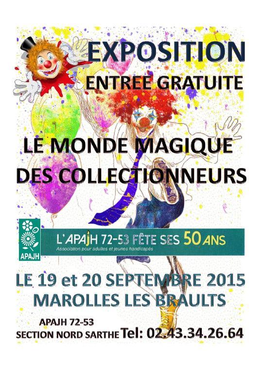 EXPOSITION Monde Magique des Collectionneurs