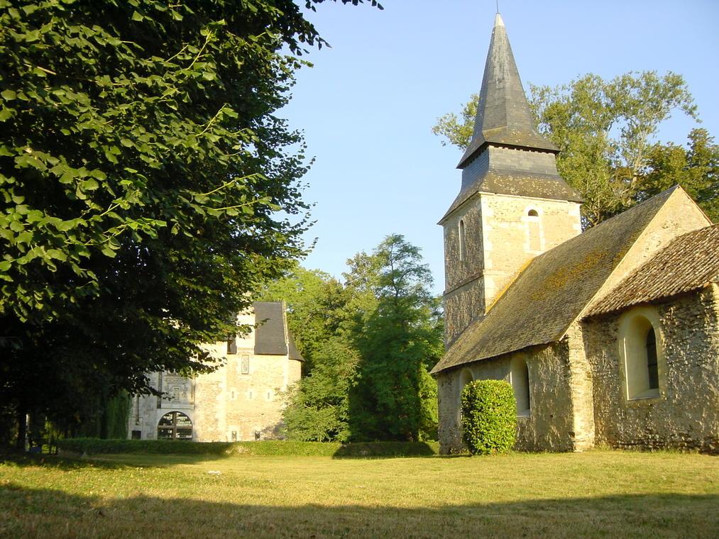 Eglise St Symphorien Clermont Créans-août03