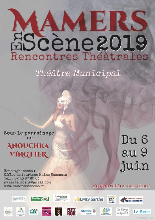 Festival Mamers en Scène 2019 Affiche