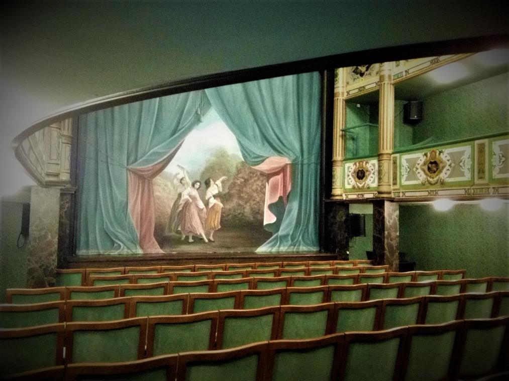 Théâtre - vue intérieure