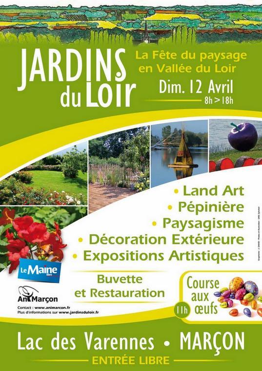 Jardins du Loir 12 avril 2015