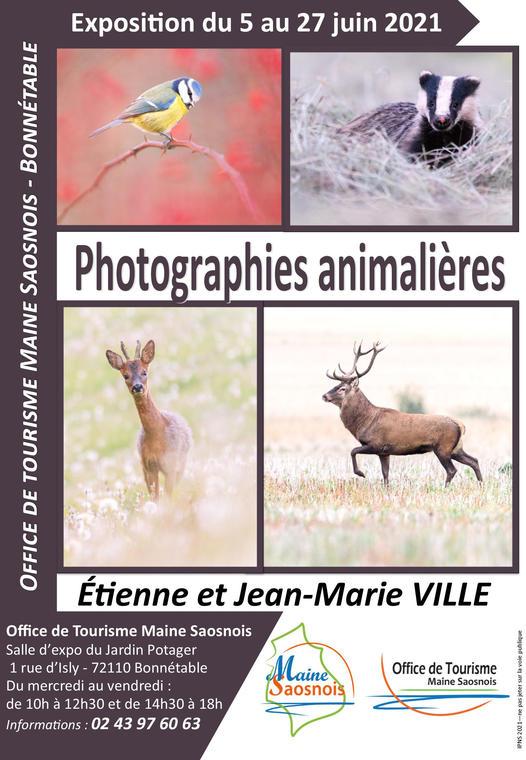affiche exposition frères VILLE
