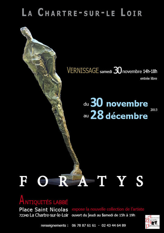 affiche expo foratys