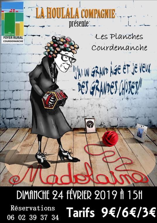 affiche madelaine