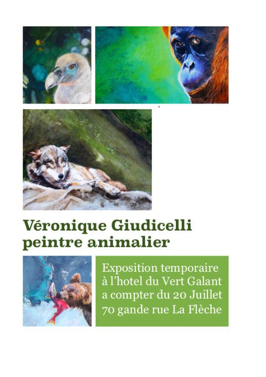 afiche expo la fleche Giudcelli Véronique_01