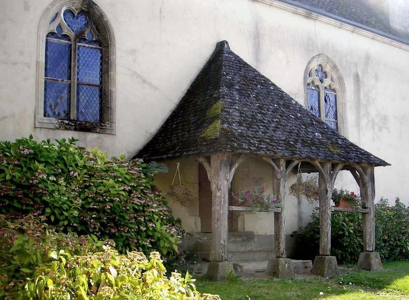 caquetoire de l'église à René