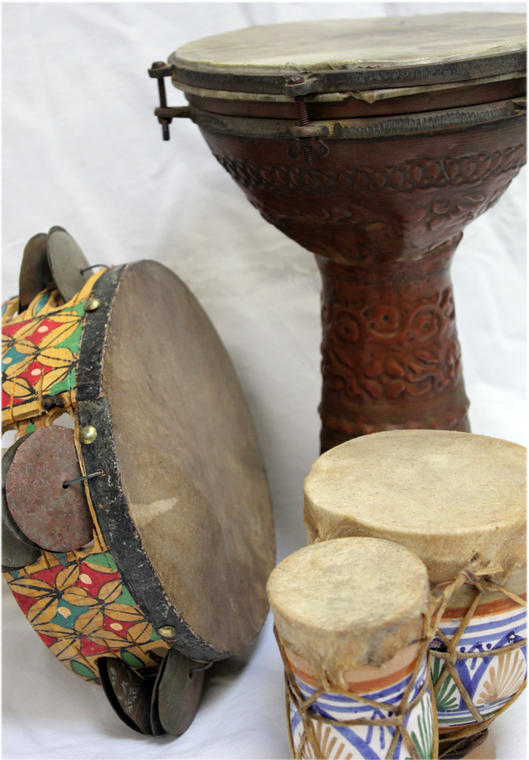 ensemble tambours