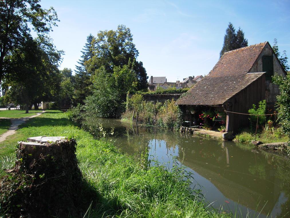 Parc de Bonnétable - lavoir