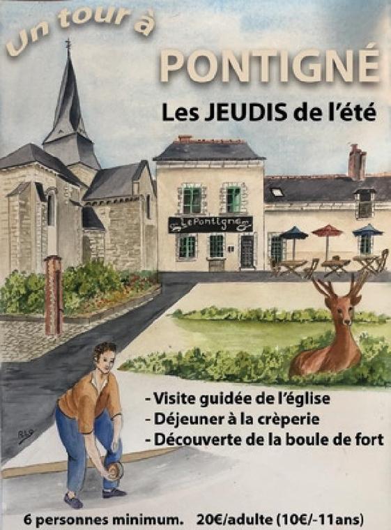 un tour à Pontigné