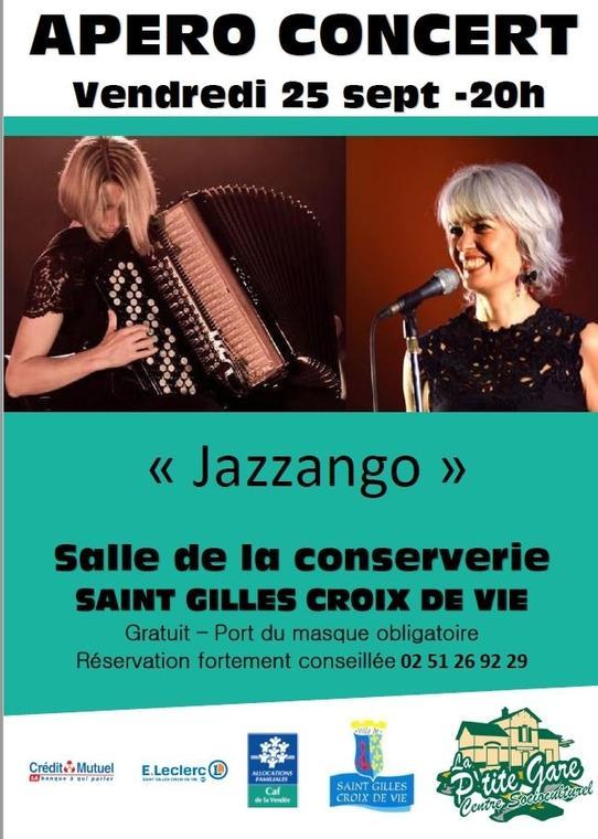 Apéro concert Jazzango